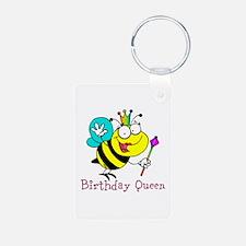 Birthday Queen Keychains