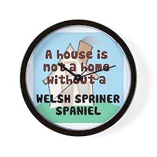 Welsh Springer Home Wall Clock