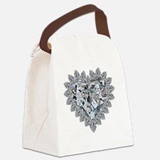 prickly heart Canvas Lunch Bag