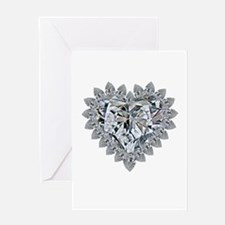 prickly heart Greeting Cards