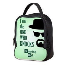 BREAKINGBAD THE ONE WHO KNOCKS Neoprene Lunch Bag