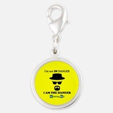BREAKINGBAD THE DANGER Silver Round Charm