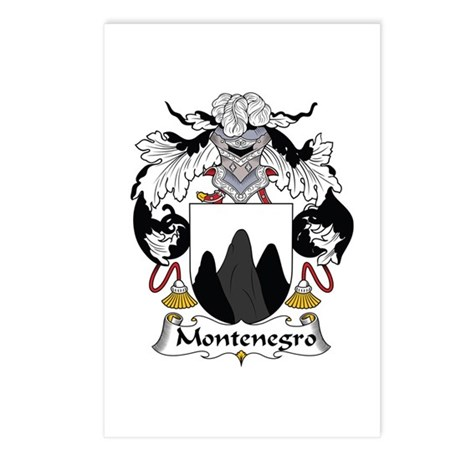 Montenegro Postcards (Package of 8)