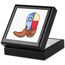 TEXAS LONESTAR BOOT Keepsake Box