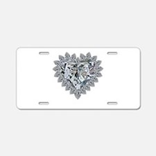 prickly heart Aluminum License Plate
