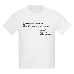 signed the ocean T-Shirt