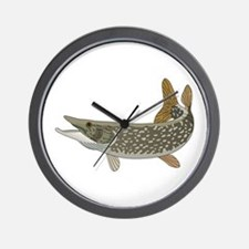 NORTHERN PIKE Wall Clock