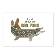 It's All About The Big Fish Postcards (Package of