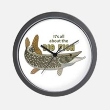 It's All About The Big Fish Wall Clock