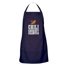 Chili Cookoff Champion Apron (dark)