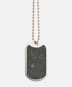 Math Lessons Dog Tags