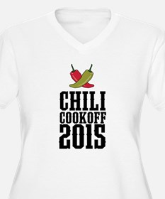 Chili Cookoff 2015 Plus Size T-Shirt