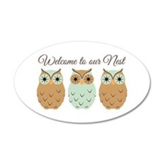 Welcome Nest Wall Decal