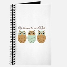 Welcome Nest Journal
