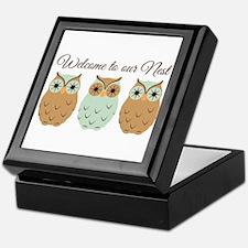 Welcome Nest Keepsake Box