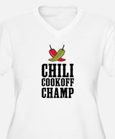 Chili Cookoff Champ Plus Size T-Shirt
