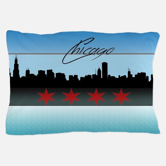 Chicago Skyline Pillow Case