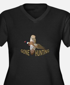 Gone Hunting Plus Size T-Shirt