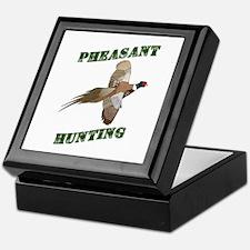 Pheasant Hunting Keepsake Box