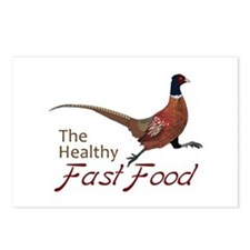 The Healthy Fast Food Postcards (Package of 8)