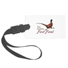 The Healthy Fast Food Luggage Tag