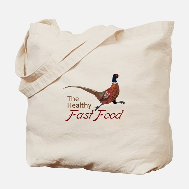 The Healthy Fast Food Tote Bag