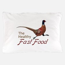 The Healthy Fast Food Pillow Case