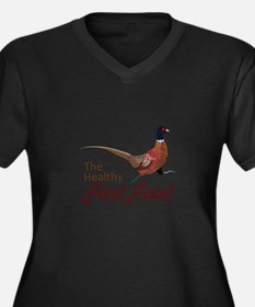 The Healthy Fast Food Plus Size T-Shirt