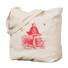 The Hive In Red Tote Bag