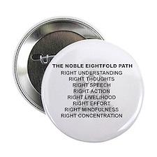"Noble Eightfold Path 2.25"" Button"