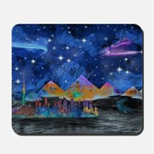 Starry Night in Dubai Mousepad