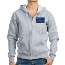 Starry Night in Dubai Zip Hoodie