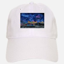 Starry Night in Dubai Baseball Baseball Cap