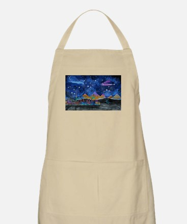 Starry Night in Dubai Apron