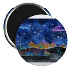 Starry Night in Dubai Magnets