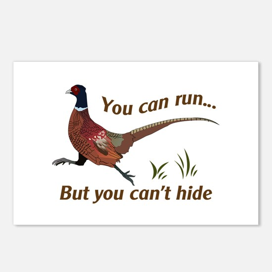 You Can Run... But You Can't Hide Postcards (Packa