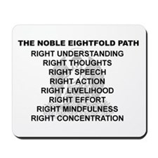 Noble Eightfold Path Mousepad