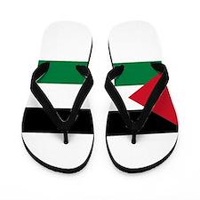Palestinian flag Flip Flops