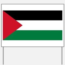 Palestinian flag Yard Sign