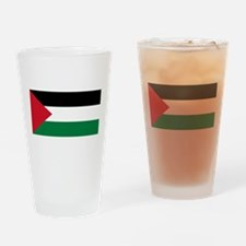 Palestinian flag Drinking Glass