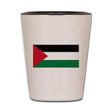 Palestinian flag Shot Glass
