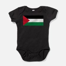 Palestinian flag Baby Bodysuit