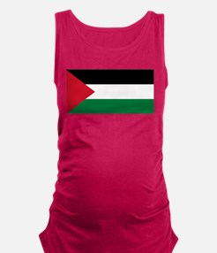 Palestinian flag Maternity Tank Top