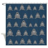 Walrus Shower Curtains