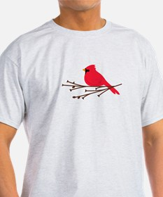 Cardinal Bird Branch T-Shirt