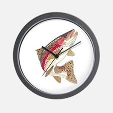 RAINBOW TROUT Wall Clock