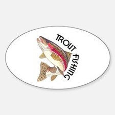Trout Fishing Decal