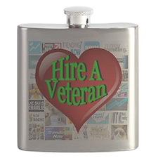 Trending Now Hire A Veteran Heart Flask