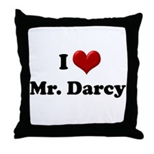 Unique Mr darcy Throw Pillow