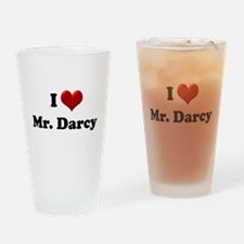 Funny Darcy Drinking Glass